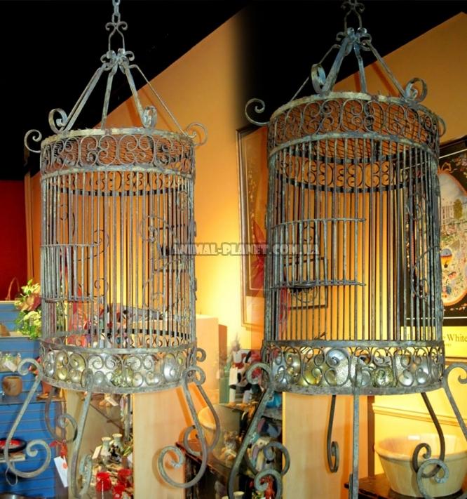 Кованые клетки вольеры и другие изделия для попугаев